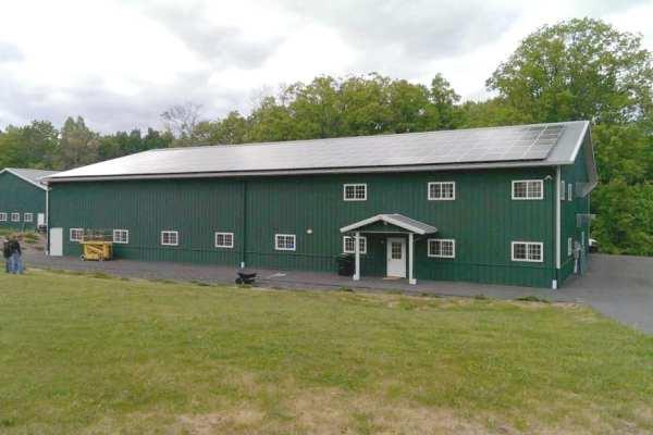 Commercial Solar-Installation-On-Barn New London, CT