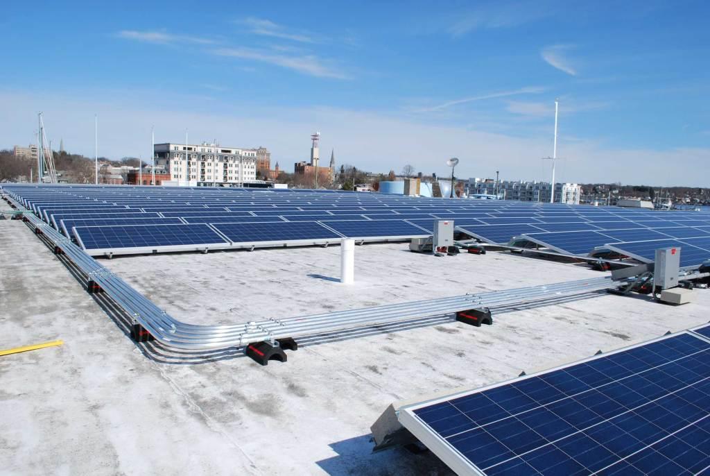 Solar-Panel-Array-Commercial-Installation Connecticut