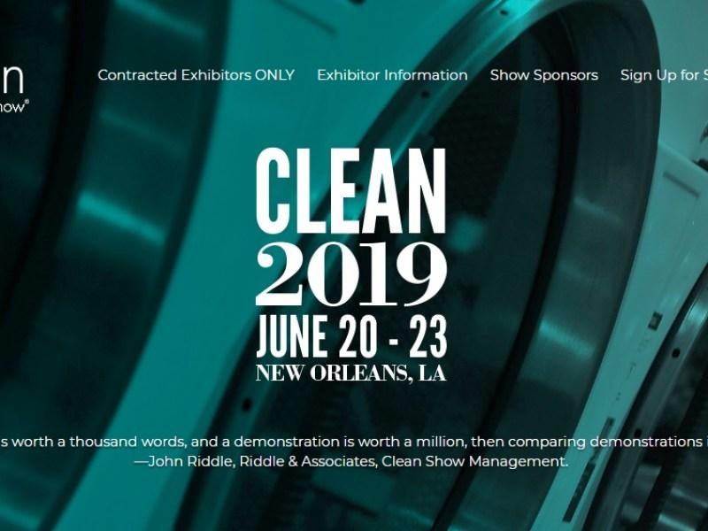 Выставка оборудования для прачечных и химчисток Clean Show