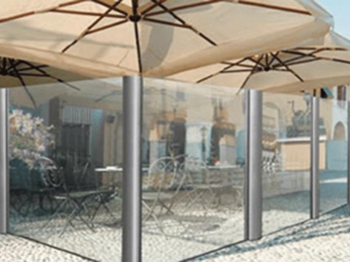 retractable glass divider walls