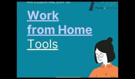 Covid 19 Work from Home Tools