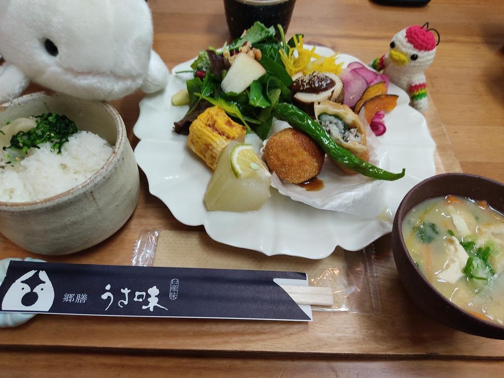 【臼杵市 石仏観光センター・郷膳うさ味】ここでしか食べられない大分県の郷土料理ランチに舌鼓♪