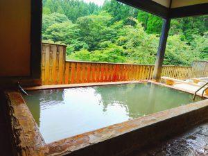 【久住温泉 め組茶屋】竹田の炭酸泉「ソーダの湯」を楽しむ!シュワシュワ感のある泉質の山奥秘湯♨