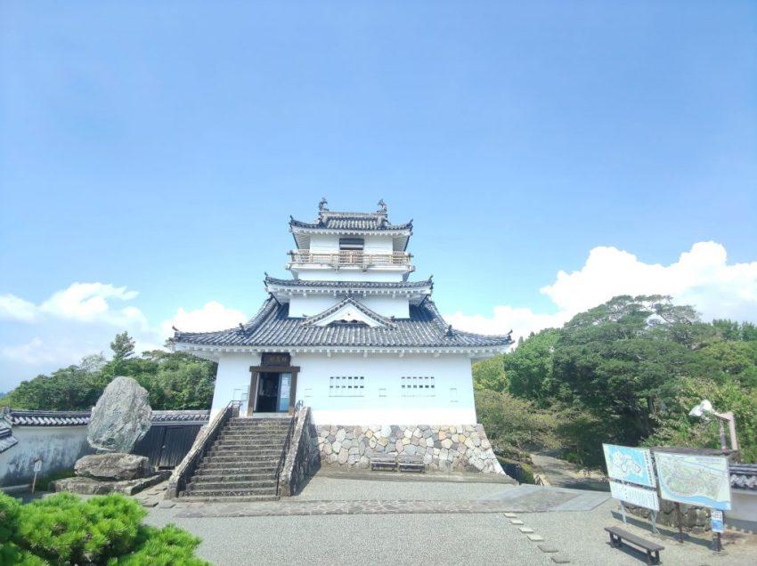 【杵築市 杵築城】日本一小さな城!?600年前の先人達も見た景色は絶景!!歴史ロマン探索♪