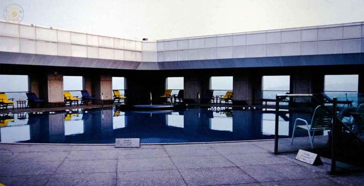 Roof Top Pool im Far Eastern Plaza Hotel Taipei