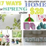 17 ways under $20 to brighten your home for spring