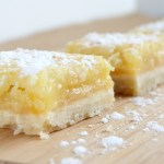 Feels Like Springtime Lemon Bars: Sweets To Scare The Cold Away