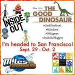 Dinosaurs And Feelings And The Future! I'm Headed To San Francisco With #Disney!