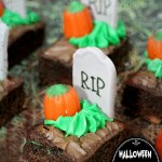 Rest In Delicious Pieces: Graveyard Brownie Bites Recipe