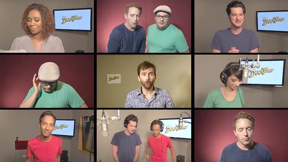 The cast of the new DuckTales includes David Tennant as Scrooge McDuck