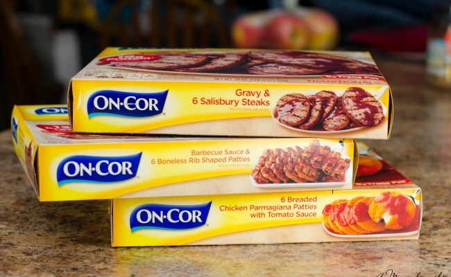 How Cooking With On-Cor Helps Me Get Things When I'm Busy + Giveaway