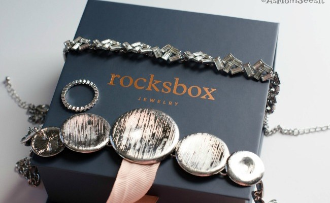 My April RocksBox Jewelry Reveal + A Free Month For You!