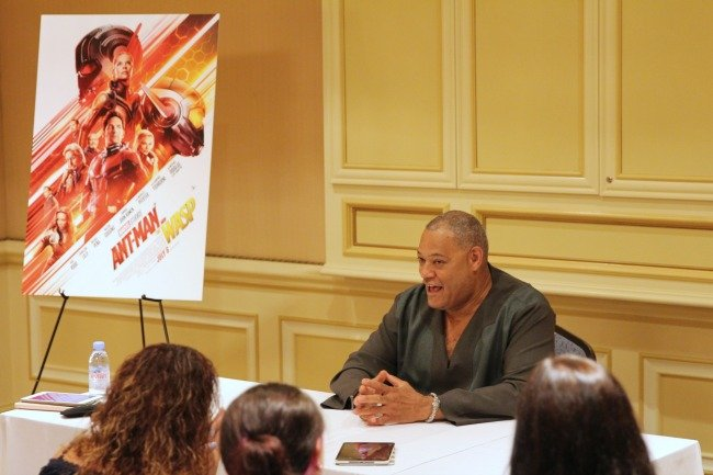 Laurence Fishburne talks about who he'd like to see in a stand-alone film for Marvel
