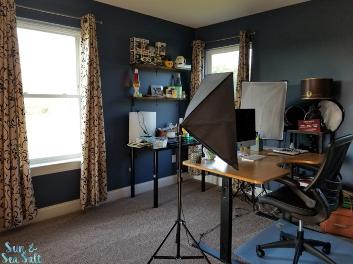 The final look at my office makeover