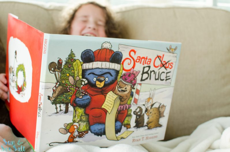 Disney Books' Santa Bruce has quickly become one of our family's favorite books