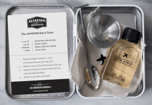 Aviation Gin Carry On Cocktail Kit