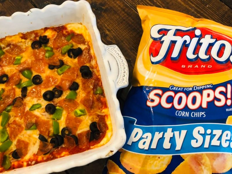 Cheezy Party Dip for holidays and the super bowl