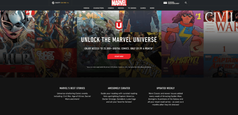 Marvel Unlimited is the best place for comic book geeks to hangout