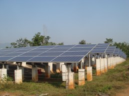 The solar plant at Mohuda