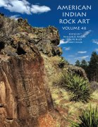 American Indian Rock Art, Volume 46