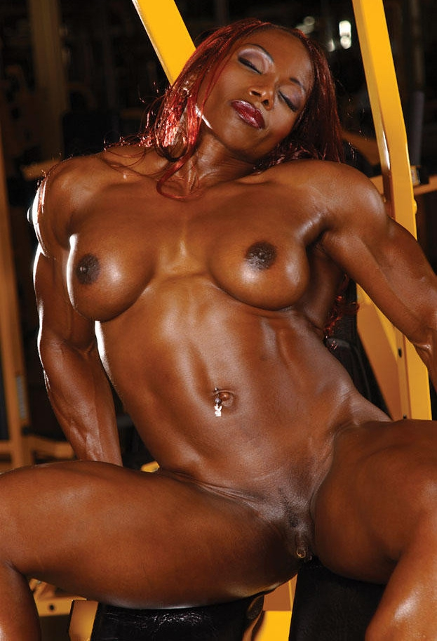 Black nude muscle girls japan