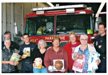 The Kare Bear Board delivers toys to Chandler Fire Department