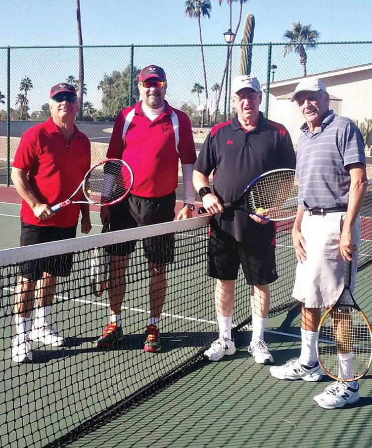 Tennis Club members