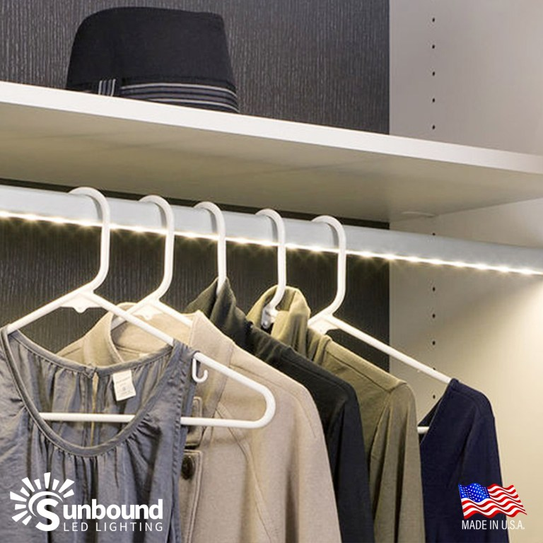 Custom Closet Bar by Sunbound Lighting