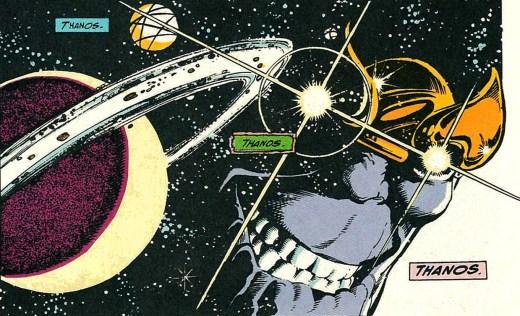 Thanos. Infinity Gauntlet #1, 1991