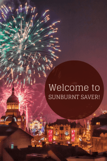 Welcome to Sunburnt Saver!