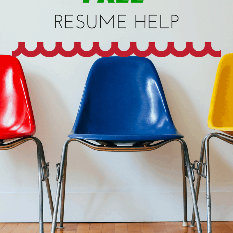 3 Places To Get Free Resume Help