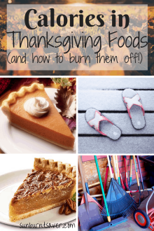 Thanksgiving calories got you down? How to have your delicious Thanksgiving meal AND burn it off! via @sunburntsaver