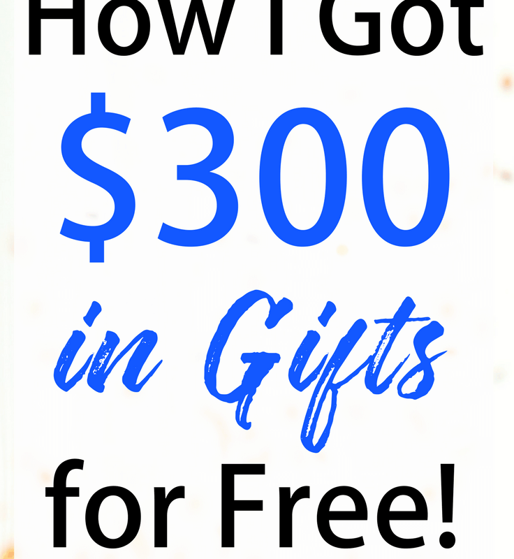 How I'm Getting $400 Worth of Gifts for Free