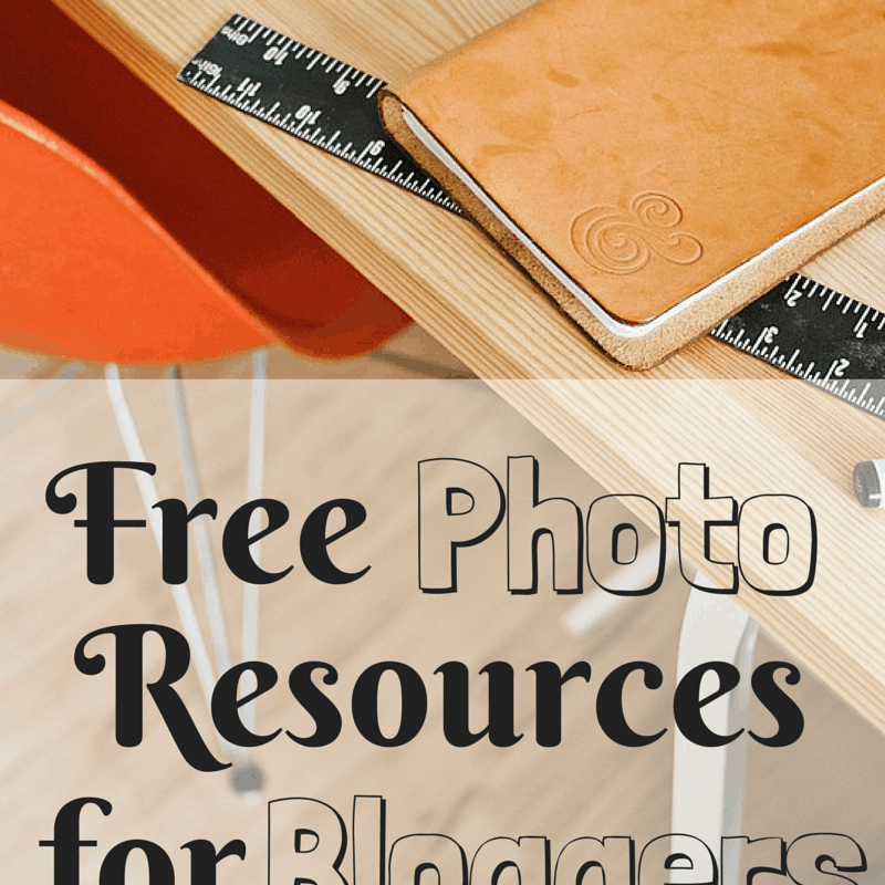 3 Free Photo Resources for Bloggers