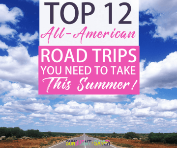 Looking for a fun way to get out and enjoy America this summer? Check out these must-see 12 road trips you should take this summer!