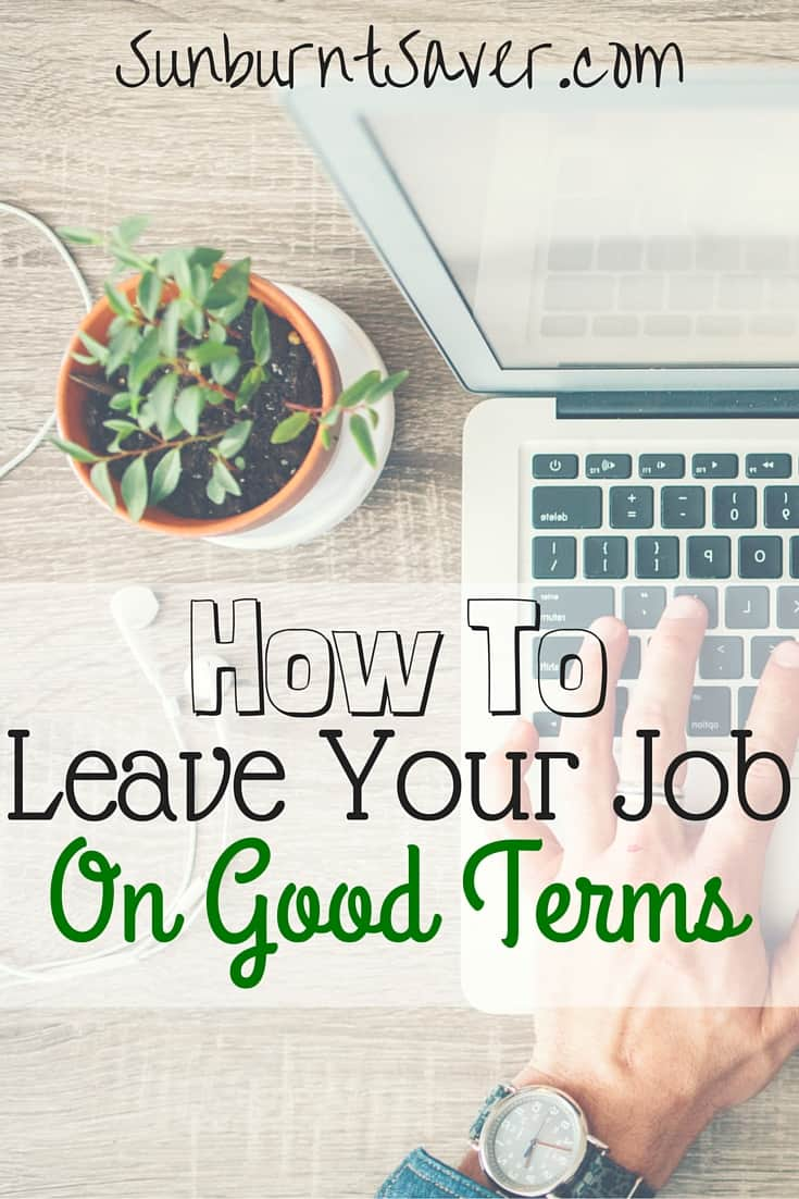 Applied for and received a new job? Here's how to leave your job on good terms, make a solid transition, and not annoy anyone in the process!