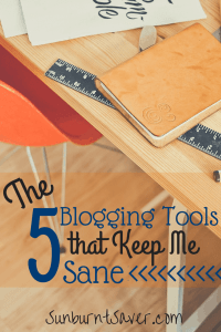 When I first started blogging, I was so disorganized! In the last year, I've learned a lot about blogging efficiently. These are the top 5 blogging tools I use!