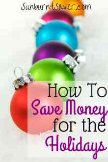 Instead of putting yourself into (or further into) debt this holiday season, we've collected a few tips and tricks to help you save money for the holidays.