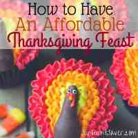 How to Have an Affordable Thanksgiving Feast