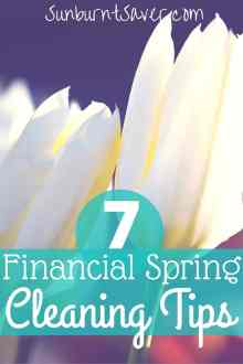 7 Financial Spring Cleaning Tips