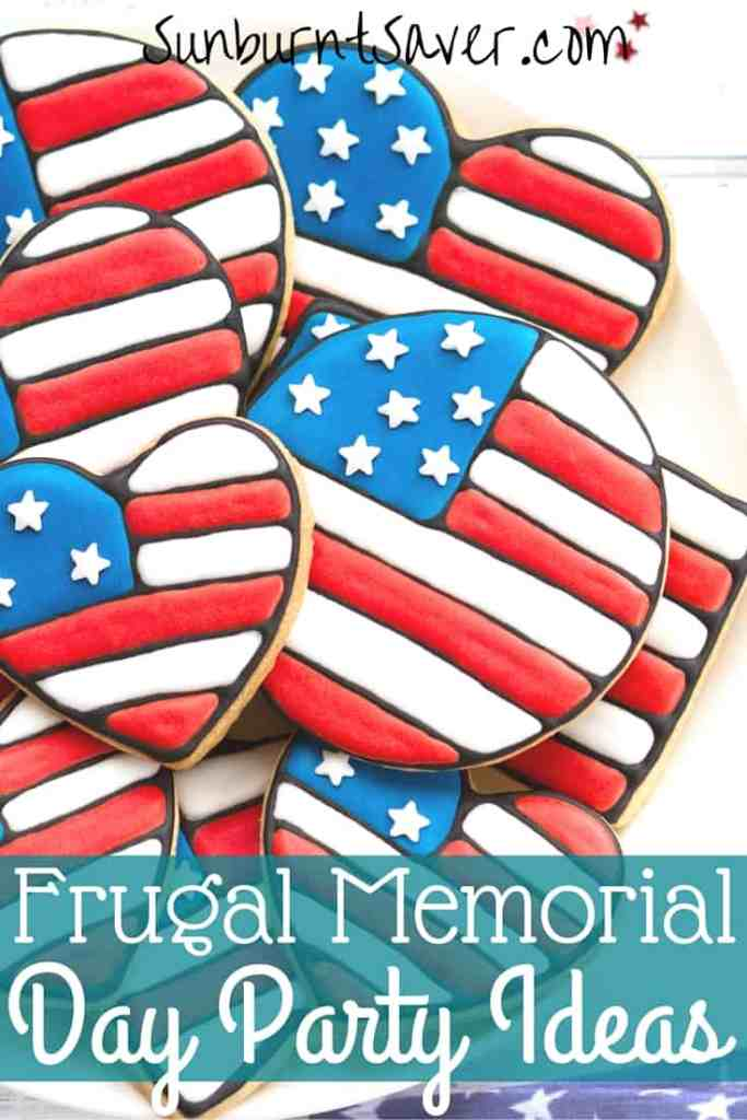 Happy Memorial Day weekend! Looking for some Memorial Day party ideas on a budget? Here's how to celebrate Memorial Day with a delicious, frugal party!