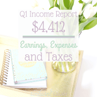 Do you love income reports? I know I do, so I decided to release my Q1 income report, which you can read here. Earning money online is possible!