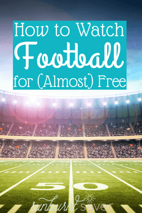 Love football but hate paying expensive prices to watch the games? Here's how to watch football for almost free.