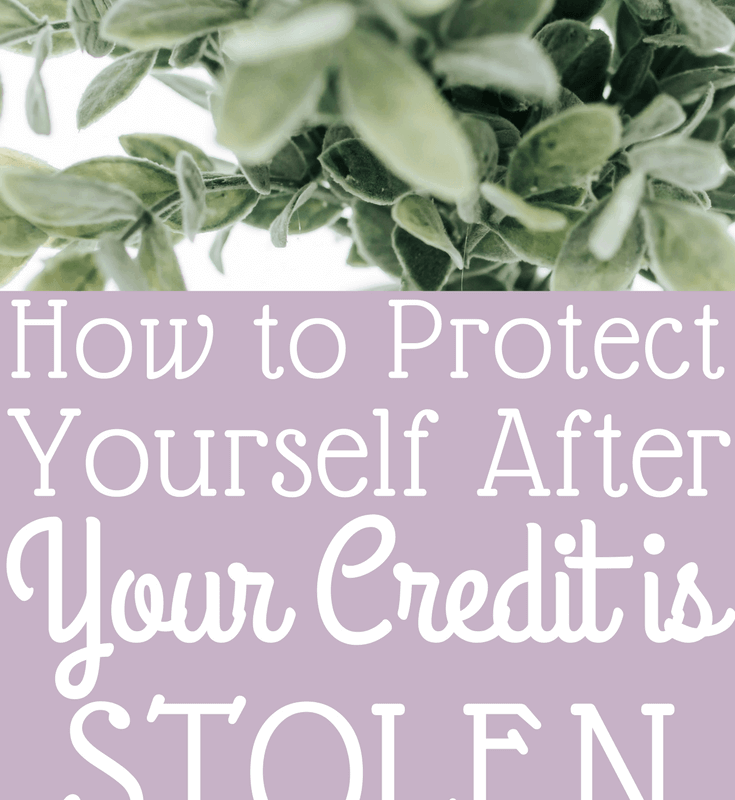 How to Protect Yourself After Your Credit is Stolen