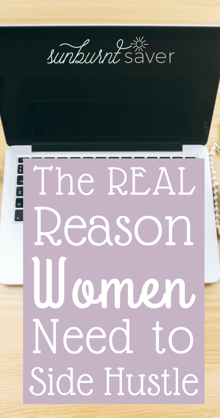 Unfortunately, women are used to casual sexism. But what happens when sexism happens at work? Why women need to side hustle. #sidehustle #workathome #makemoney #wahm #sahm #womenrockmoney