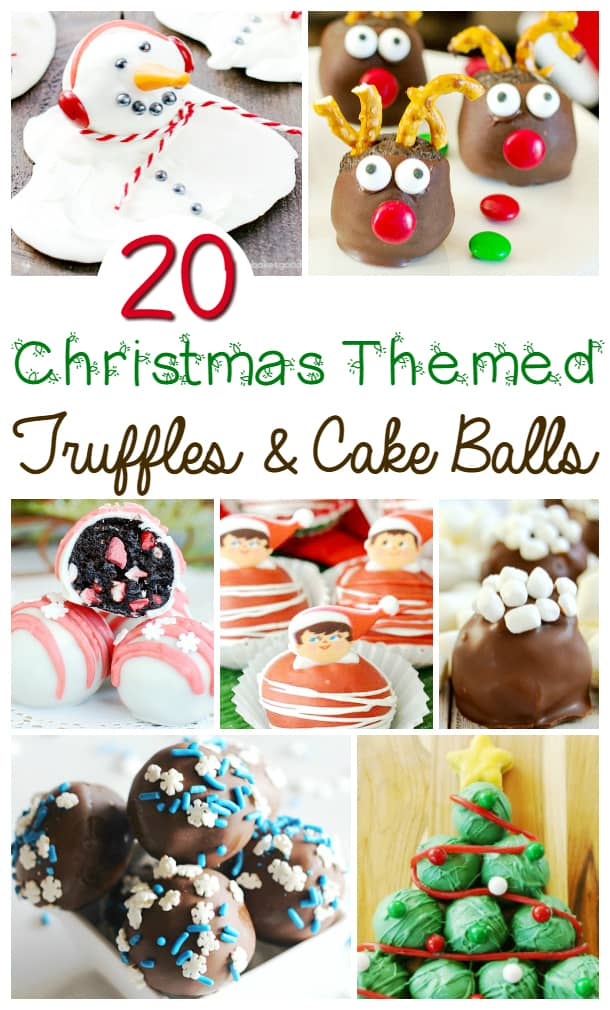 Looking for a yummy gift to bring to a coworker gift-giving party, or something homemade for family and friends? These truffles and cake balls do the trick!
