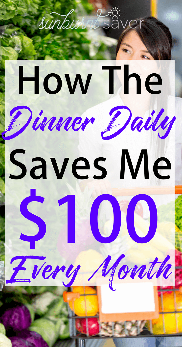 Are you looking for meals that are easy to make, budget-friendly, delicious and healthy? You should check out The Dinner Daily - my review here! #thedinnerdaily #dinnerdaily #mealplanning #sunburntsaver #dinnermealplanning #easyrecipes #cheaprecipes #quickrecipes #familyrecipes