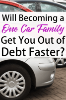 Should You Become a One-Car Family to Get Out of Debt?