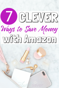Did you know your Amazon Prime subscription can save you money? It's true - you can save money with Amazon! Here are 7 clever ways to take advantage of your Amazon membership.