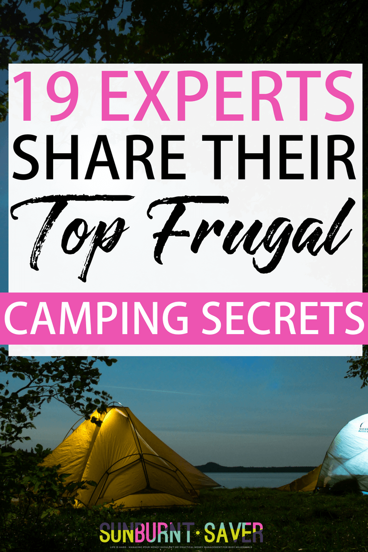 Do you wish you could travel, but don't have the money for flights, hotel stays or fancy dinners out? While you may not be able to travel to Hawaii, there are ways you can still travel, get out and experience something new - and not break the bank. What is that? Frugal camping! #camping #frugalcamping #campingtips #campinggear #savemoneycamping #travel #campingfood #campfood
